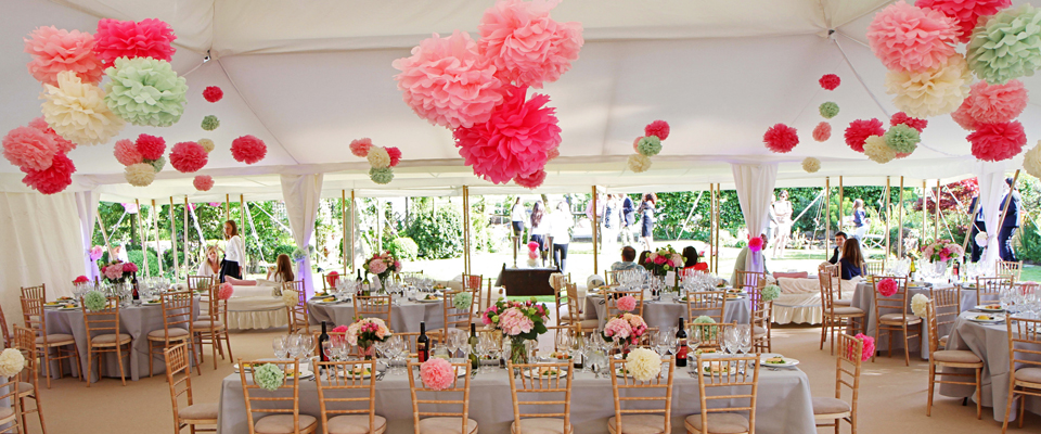 Marquee Decoration | Wedding Marquee Decor | Party Marquee Decoration