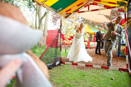 Funfair wedding decor UK