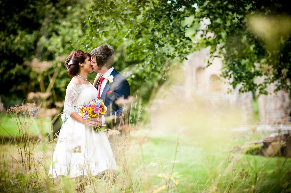 Real Indian wedding blog couple